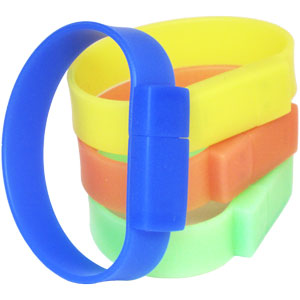 Glow Wristband V2 - Promotional USB Flash Drive
