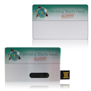 Metal Business Card V2 - Promotional USB Flash Drive
