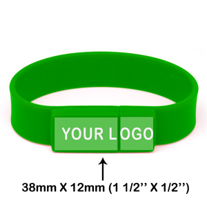 USB Wristband V3 - Promotional USB Flash Drive