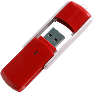 Promotional USB Flash Drive - USB Slider