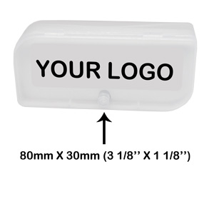Plastic boxes Logo Position